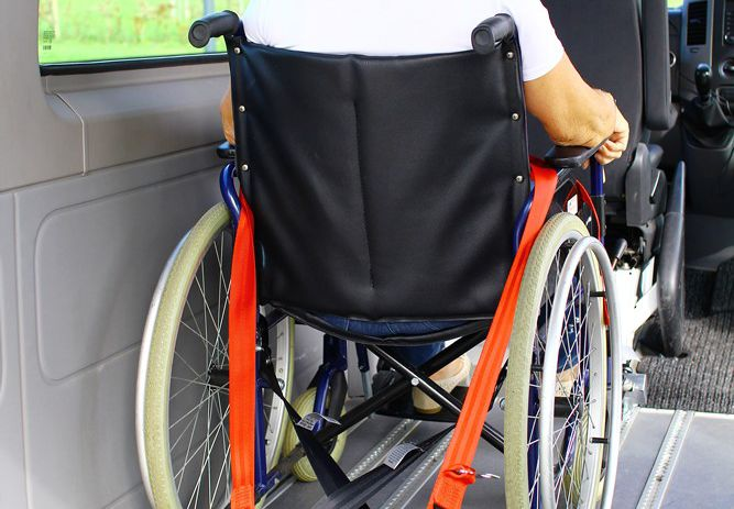 Wheelchair transport
